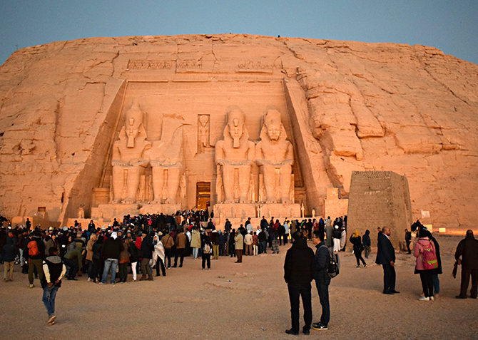 From Aswan: Private Tour to Abu Simbel Temple by Car